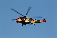 Westland Sikorsky Sea King MK-48 helicopter Stock Photo