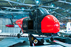 Westland Whirlwind helicopter at Duxford Imperial war museum Royalty Free Stock Photography