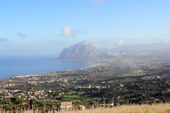 Westlich von Sizilien lizenzfreies stockfoto