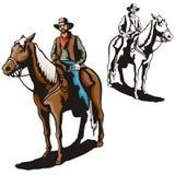 Westliche Abbildungserie Stockbild