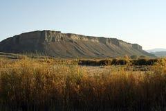 Westliche Ebenen und Butte stockfotos