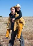 Westliche Paare lizenzfreies stockfoto