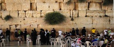 Westliche Wand in Jerusalem Stockbilder