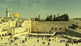 Westliche Wand, Jerusalem Lizenzfreies Stockbild