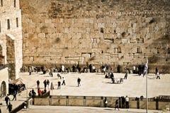 Westliche Wand, Jerusalem, Israel Stockbilder