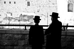 Westliche Wand, Jerusalem, Israel Lizenzfreie Stockfotos