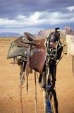 Westlicher Sattel Lizenzfreie Stockfotografie