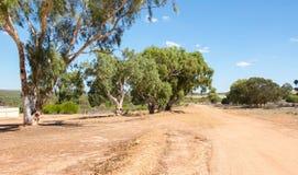 Westliches australisches Ackerland Stockfotos