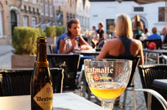 Westmalle, belgian beer Stock Photography