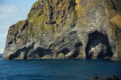 westman冰岛的海岛 免版税库存照片