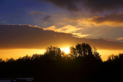 Westmeath Sunset Royalty Free Stock Photography