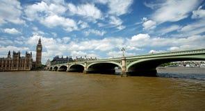 Westminister Bridge Royalty Free Stock Photo