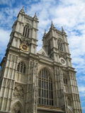 Westminster Abbey. Towers and facade of the famous Westminster Abbey in London, England Royalty Free Stock Photos