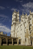 Westminster Abbey. From the interior on a beautiful day Stock Images