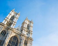 Westminster Abbey. On bright summer day Royalty Free Stock Photography