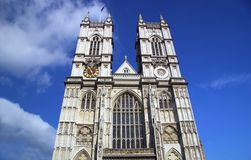 Westminster Abbey. The Collegiate Church of St Peter, Westminster in London, England known as Westminster Abbey.  Traditional place of coronation and burial site Royalty Free Stock Photography