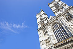 Westminster Abbey and Blue Sky Royalty Free Stock Photos
