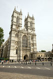 Westminster Abbey and Blue Sky Stock Photo