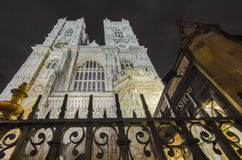 Westminster Abbey cathedral, London Royalty Free Stock Photos