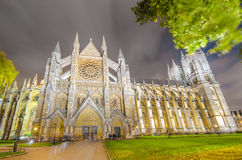 Westminster Abbey cathedral, UK Stock Photos