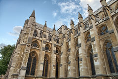The Westminster Abbey church in London Royalty Free Stock Image