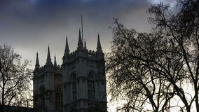 Westminster Abbey Church (London, England) stock video footage