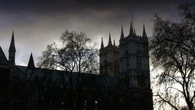 Westminster Abbey Church (London, England) stock video