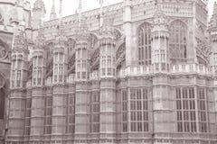 Westminster Abbey Church, London, England, UK Royaltyfri Foto