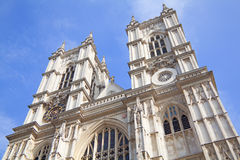 Westminster Abbey church in London, England Stock Images