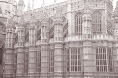 Westminster Abbey Church, London, England, UK Royalty Free Stock Photo