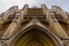 Westminster Abbey church Royalty Free Stock Images