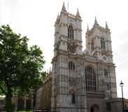The Westminster Abbey church in London UK Royalty Free Stock Image