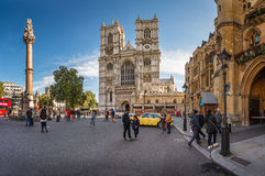 Westminster Abbey Church a Londra, Regno Unito Fotografia Stock