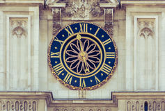 Westminster Abbey Clock Stock Photos