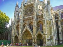 Westminster Abbey The Collegiate Church de San Pedro en Westmins Imágenes de archivo libres de regalías