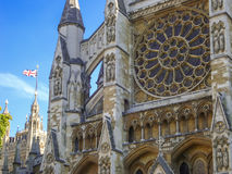 Westminster Abbey The Collegiate Church de San Pedro en Westmins Imagen de archivo libre de regalías