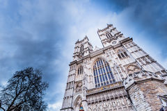 Westminster Abbey (The Collegiate Church of St Peter at Westminster). In London,UK stock image