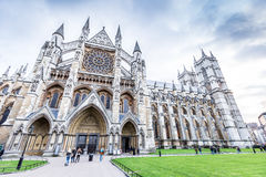 Westminster Abbey (The Collegiate Church of St Peter at Westminster). In London,UK stock photos