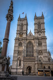 Westminster Abbey and column, London Royalty Free Stock Photos