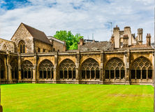 Westminster  Abbey courtyard Stock Photos