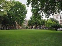 Westminster Abbey Dean gård i London Fotografering för Bildbyråer