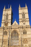 Westminster abbey. The detail of Westminster abbey in London, England Royalty Free Stock Images