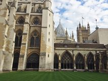 Westminster Abbey. Detail shot of Westminster Abbey in London Stock Photo