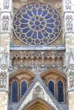 Westminster Abbey, eins des wichtigsten anglikanischen Tempels, London, vereinigtes KingdomL Lizenzfreies Stockfoto