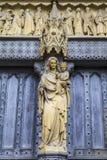 Westminster Abbey Entrance Fotografia Stock