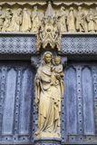 Westminster Abbey Entrance Stock Photography