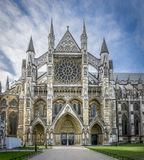 Westminster Abbey Entrance Royalty Free Stock Photo