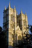 Westminster Abbey facade. In the afternoon lighting Stock Photo