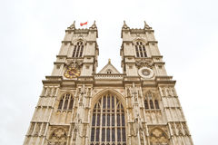 Westminster Abbey Facade. The principal Westminster abbey facade Royalty Free Stock Image