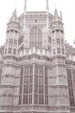 Westminster Abbey Facade, Westminster, London Royaltyfri Bild